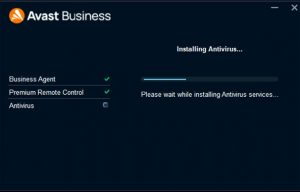 Avast Business CloudCare install components