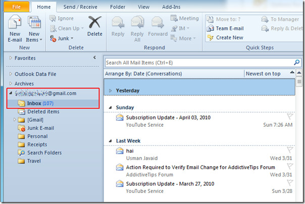 Outlook 2010 iMAP Change Inbox 5 – Next Century Support